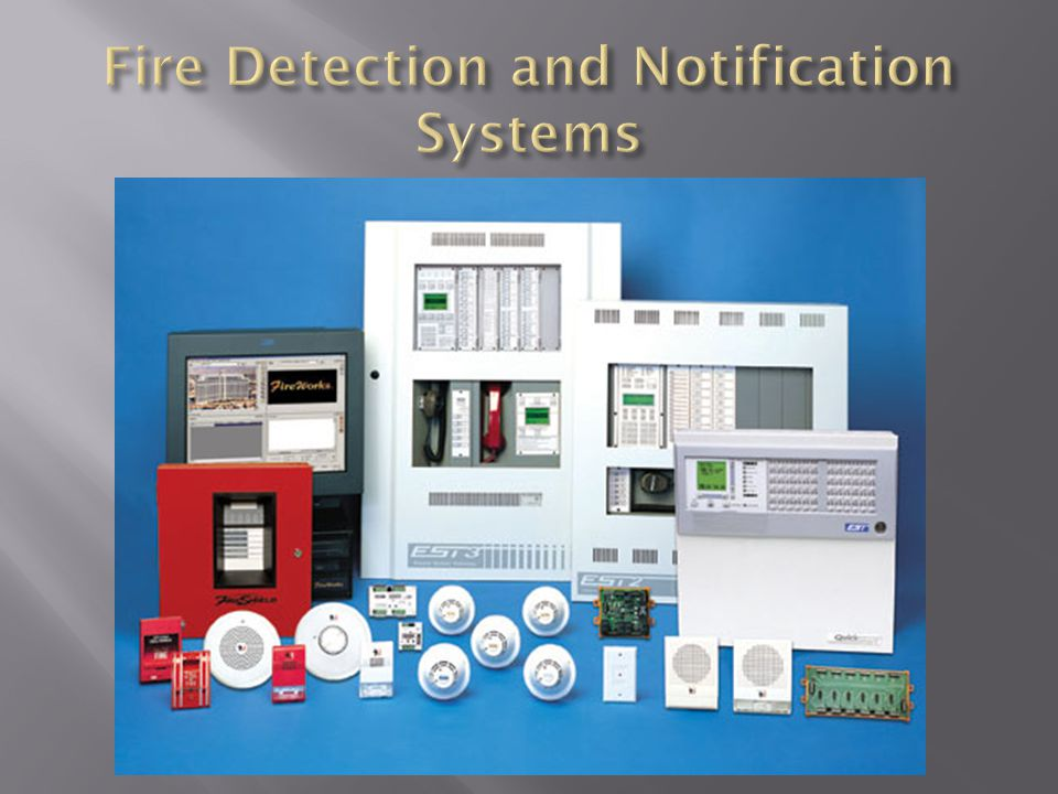 Fire Detection and Notification Systems
