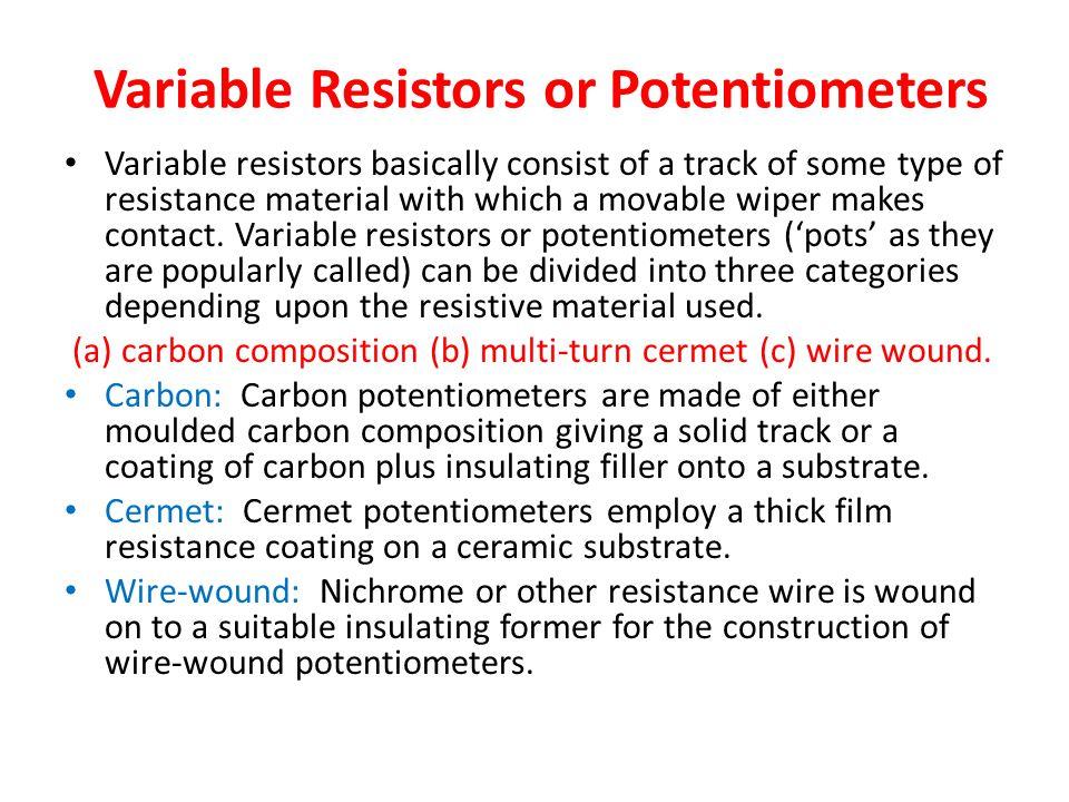 Amazing Potentiometer Symbols Images - Electrical Circuit Diagram ...