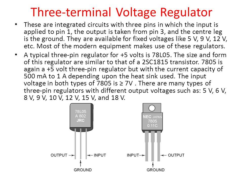 Three-terminal Voltage Regulator