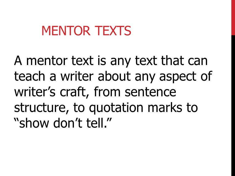 Mentor Texts