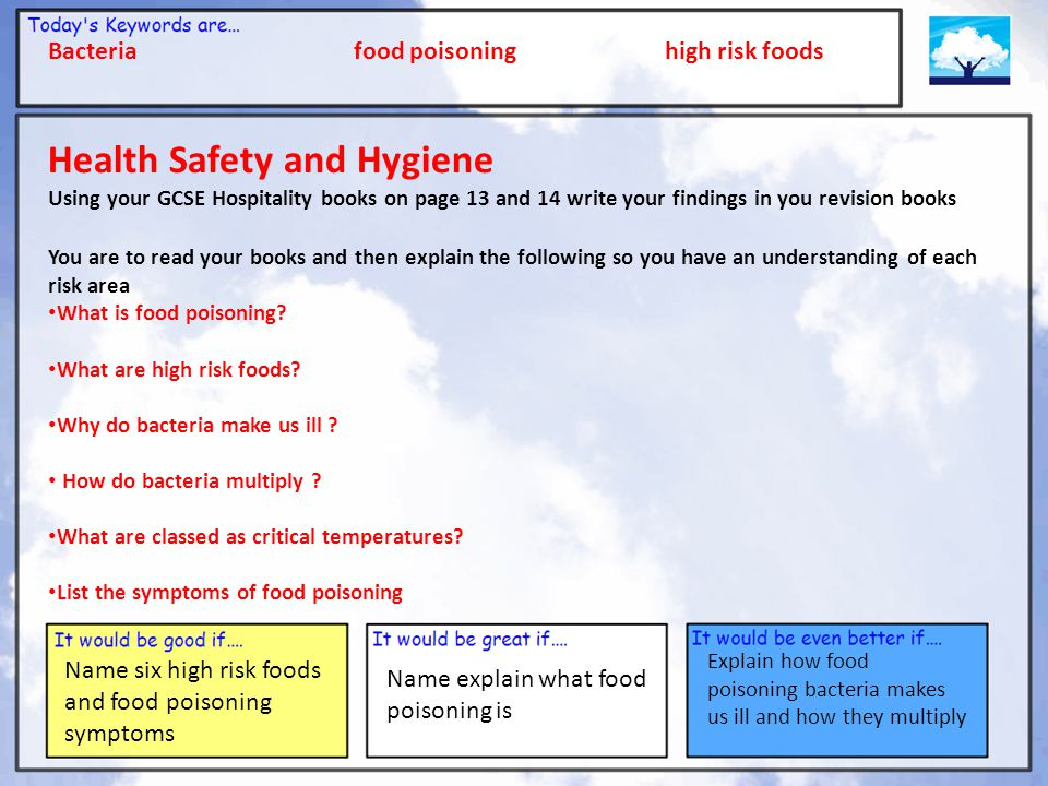 Health Safety and Hygiene
