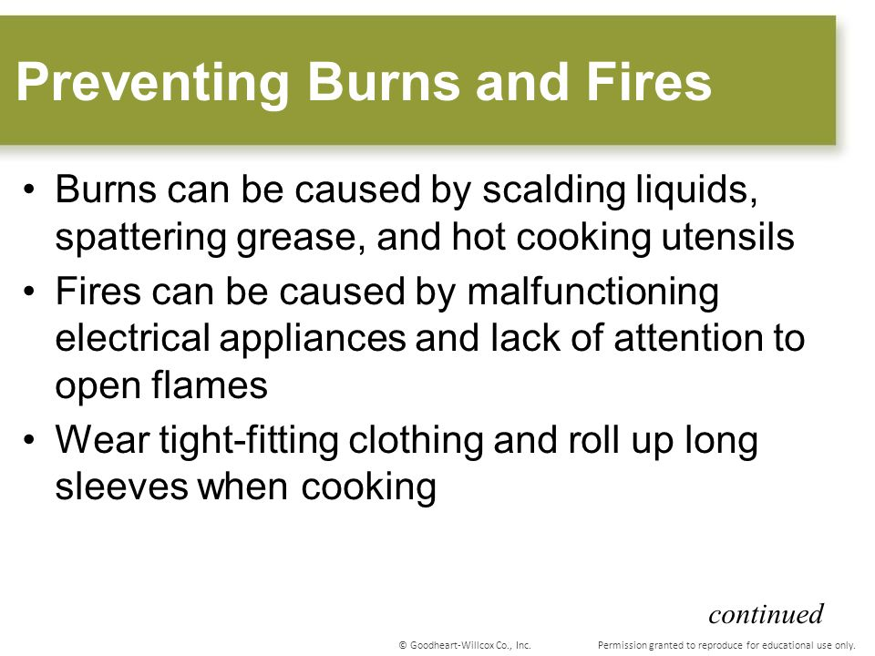 Preventing Burns and Fires