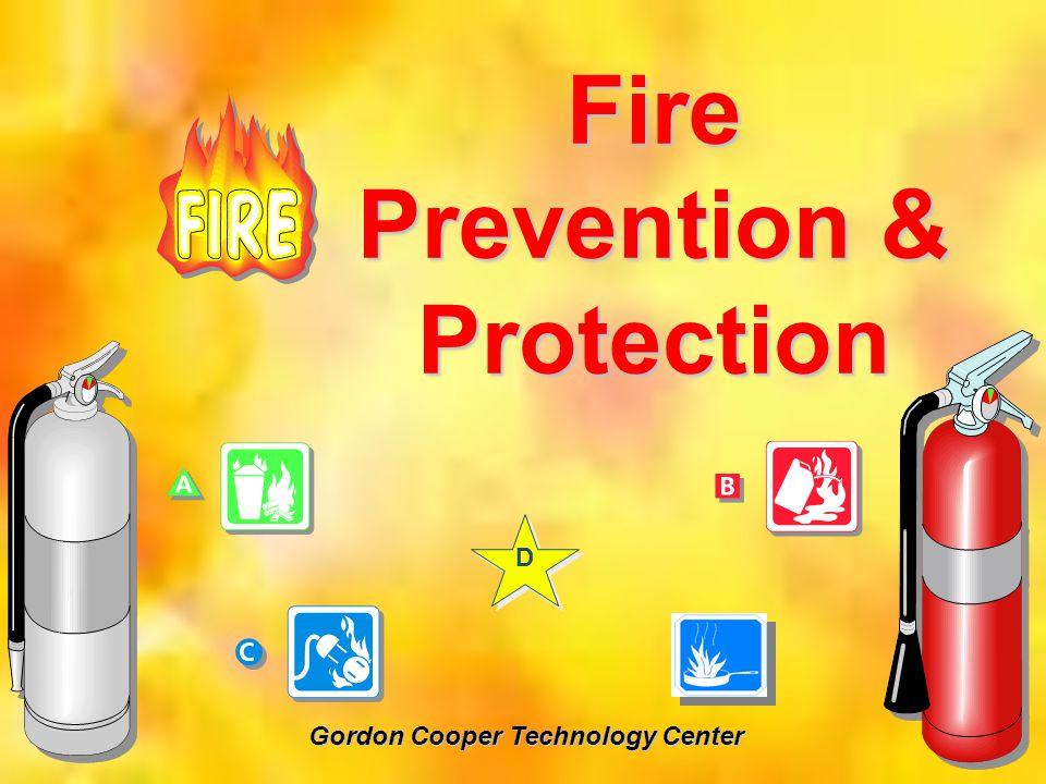 Fire Prevention & Protection Gordon Cooper Technology Center