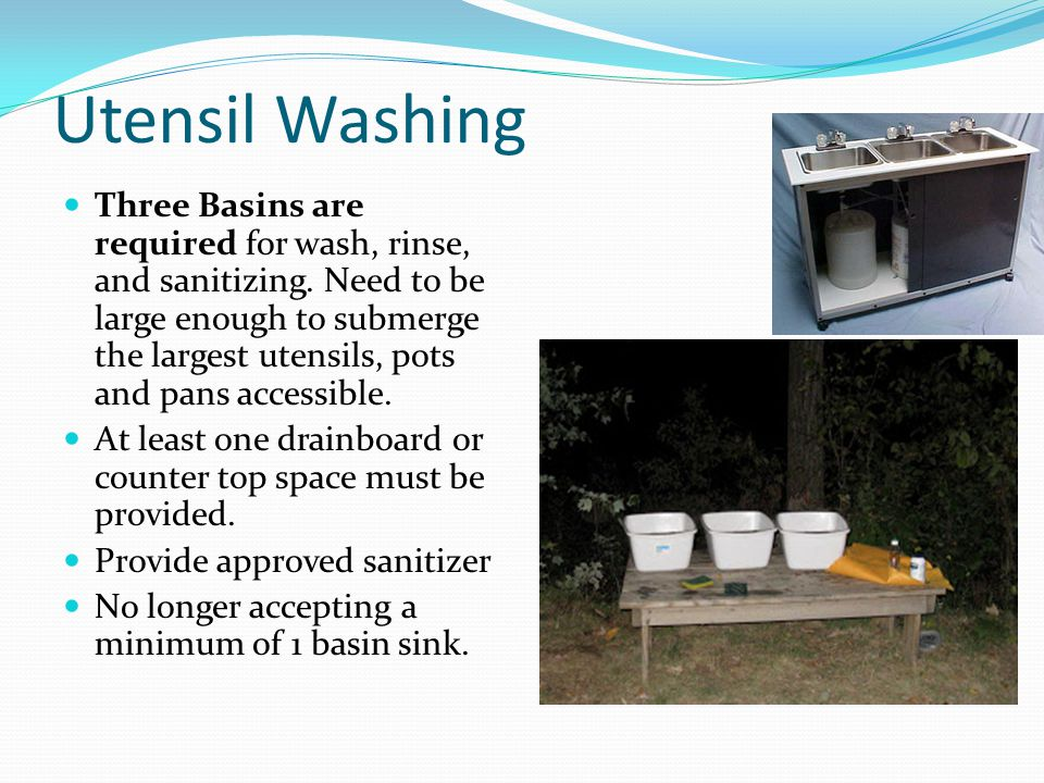 Utensil Washing