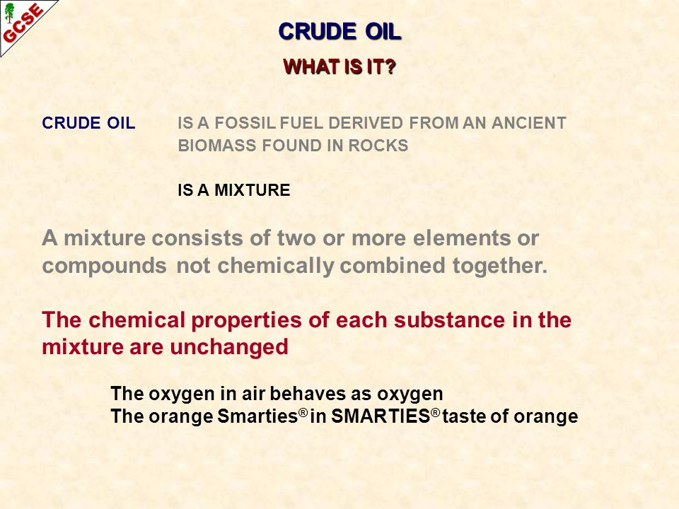 The chemical properties of each substance in the mixture are unchanged