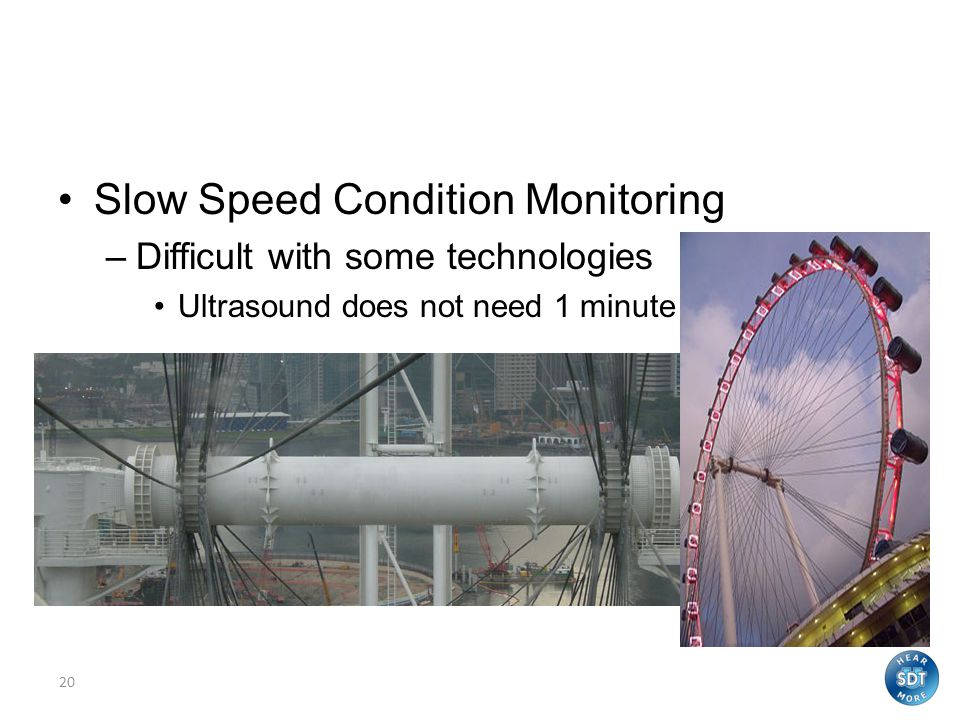 Slow Speed Condition Monitoring