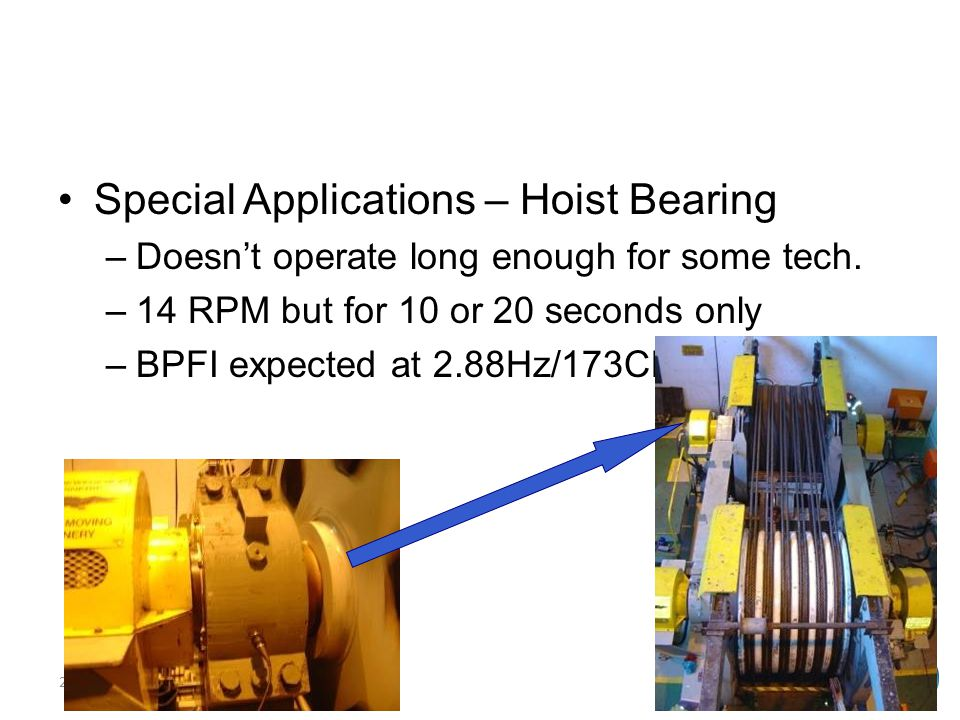 Special Applications – Hoist Bearing