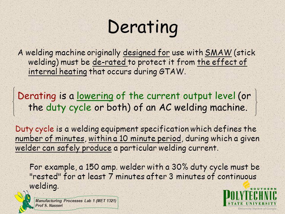 Derating