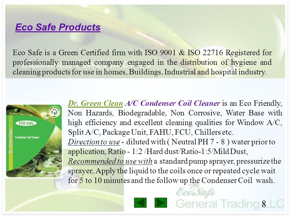 Eco Safe Products