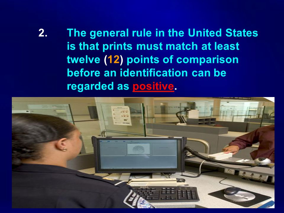 2. The general rule in the United States