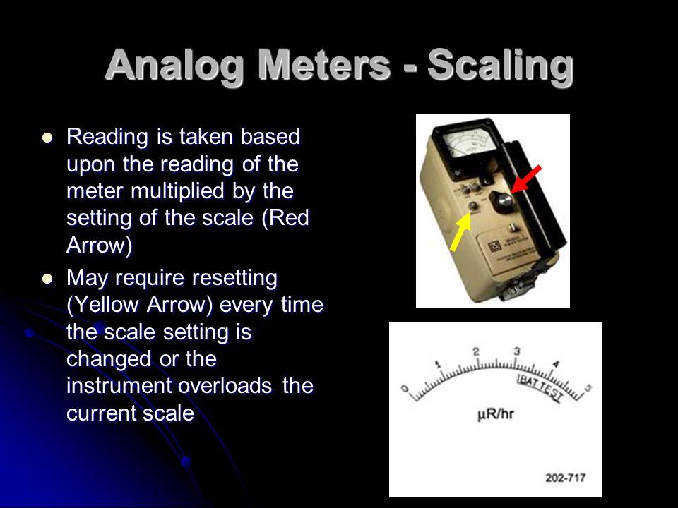 Analog Meters - Scaling