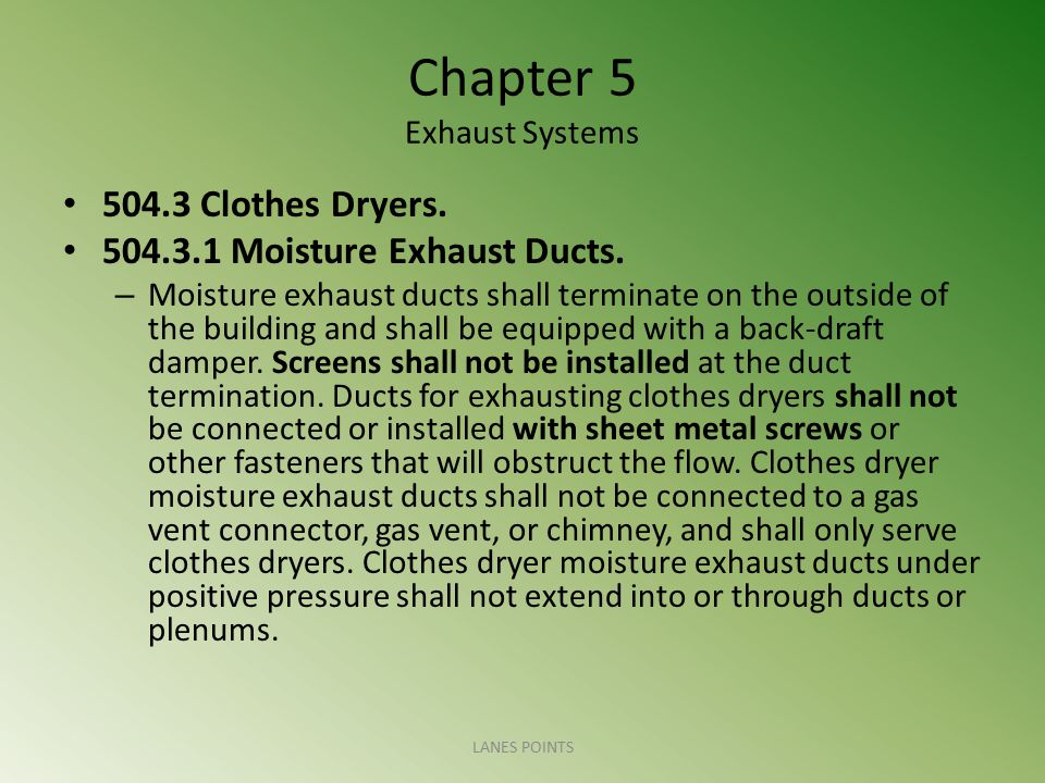 Chapter 5 Exhaust Systems