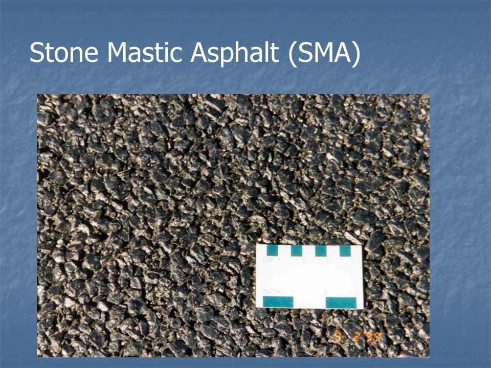 Stone Mastic Asphalt (SMA)