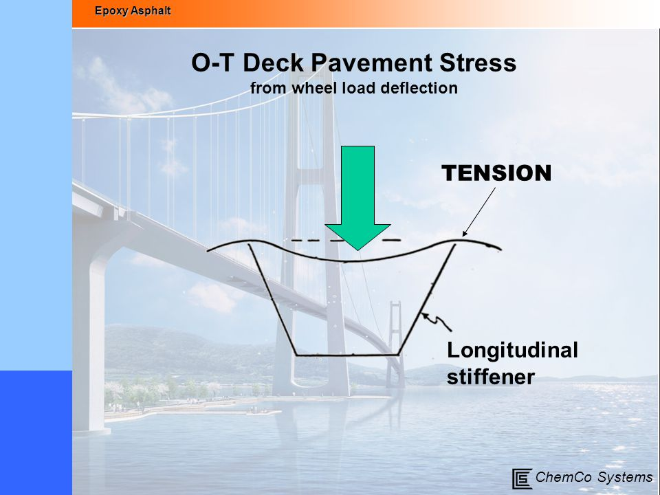 O-T Deck Pavement Stress from wheel load deflection