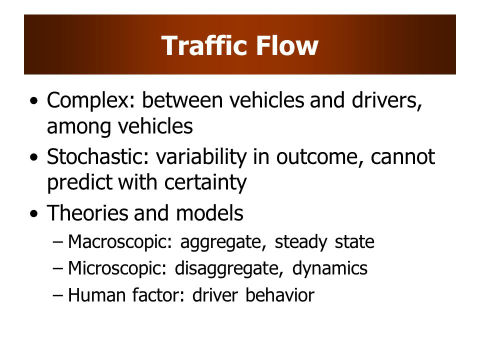 Traffic Flow Complex: between vehicles and drivers, among vehicles