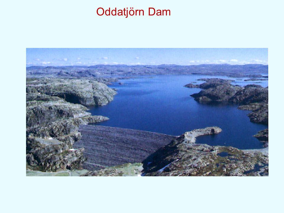 Oddatjörn Dam