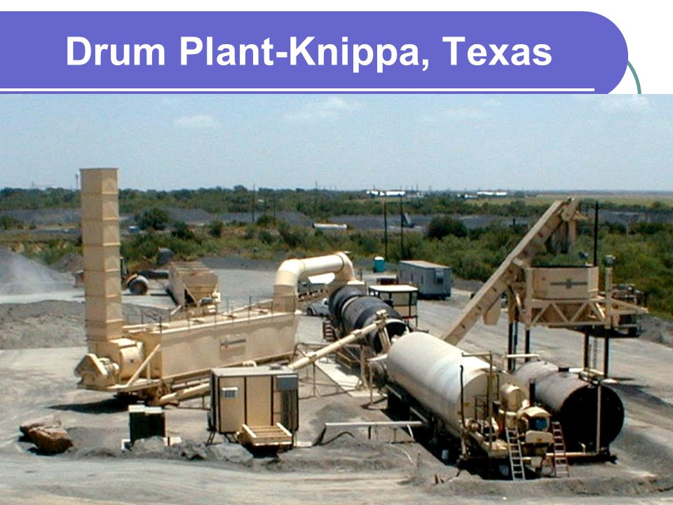 Drum Plant-Knippa, Texas