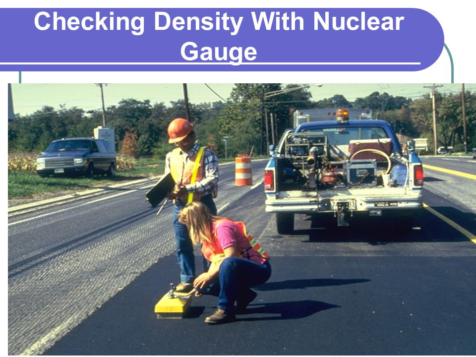 Checking Density With Nuclear Gauge