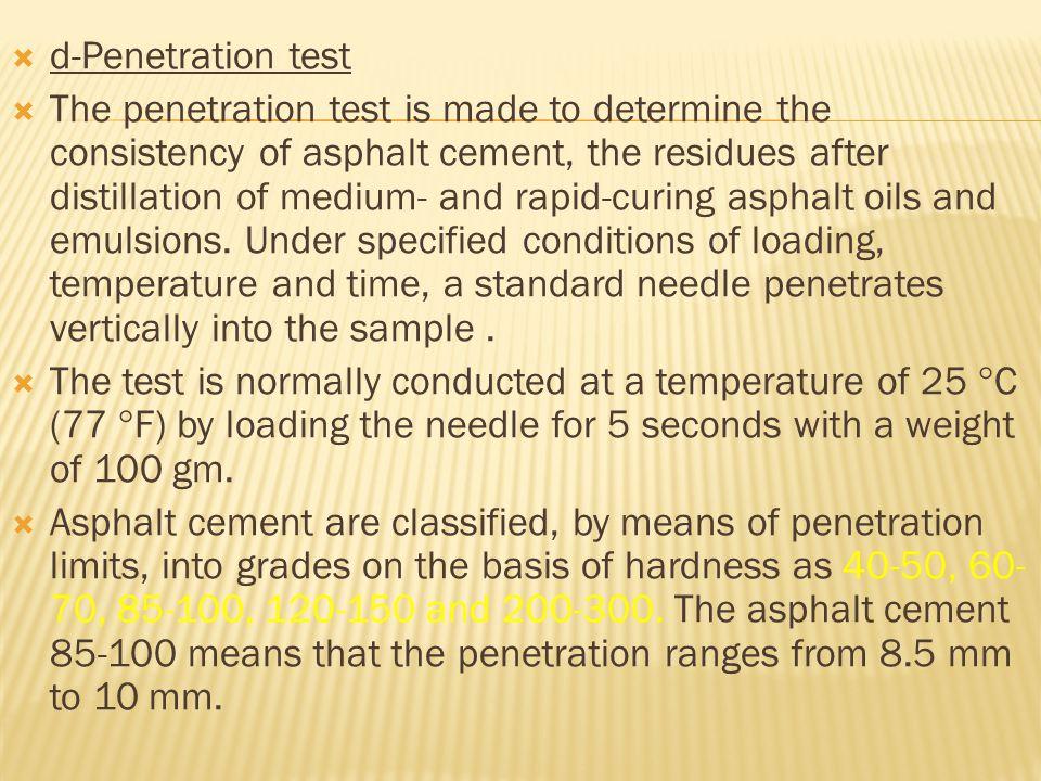 d-Penetration test