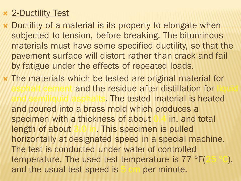 2-Ductility Test