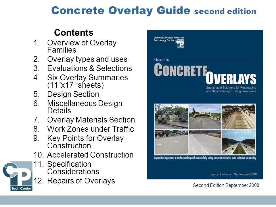Concrete Overlay Guide second edition