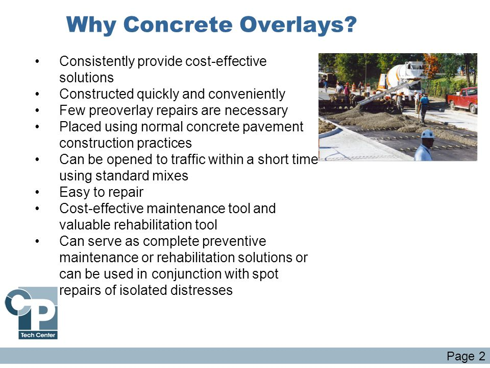 Why Concrete Overlays Consistently provide cost-effective solutions