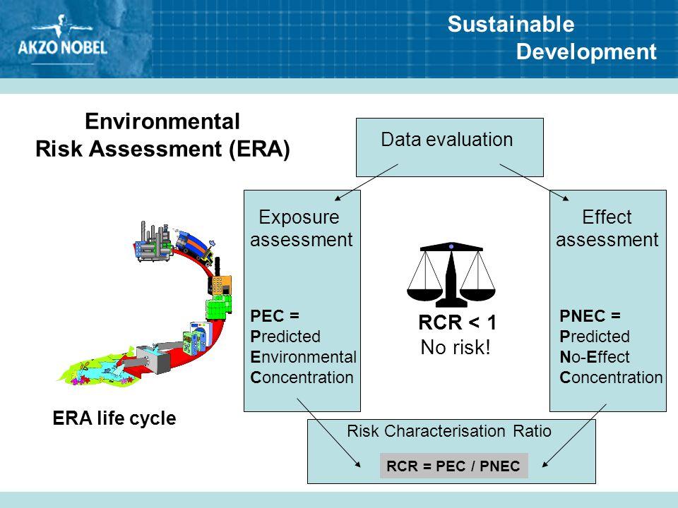Environmental Risk Assessment (ERA)