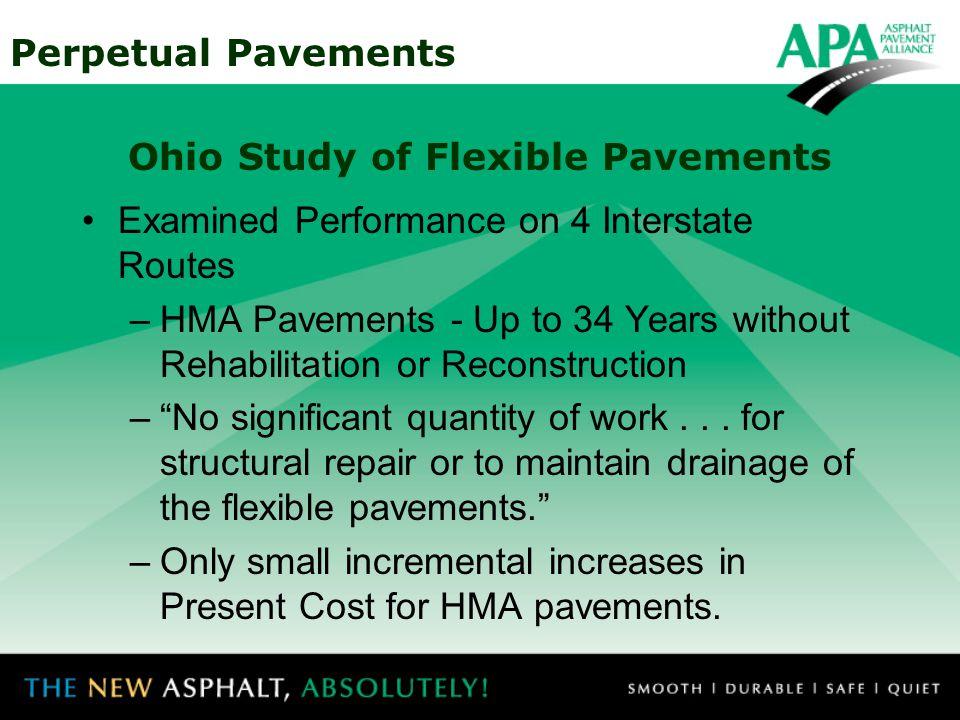 Ohio Study of Flexible Pavements