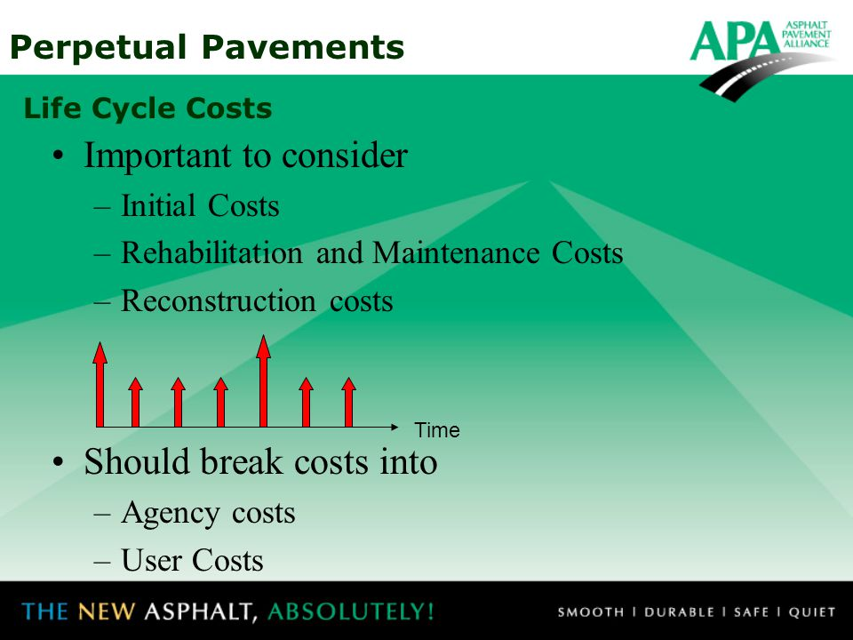 Should break costs into