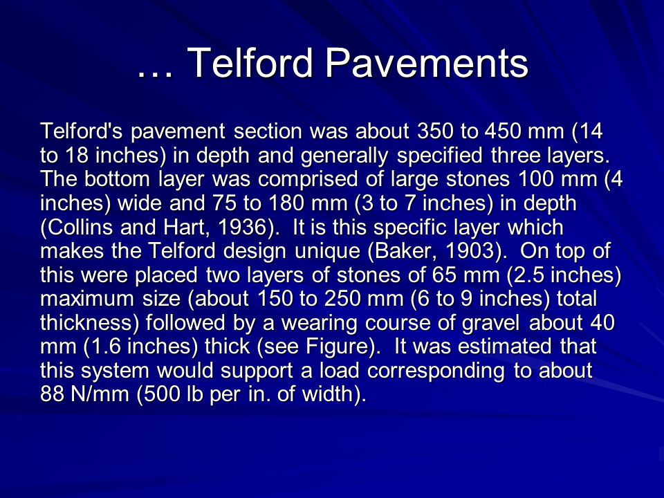 … Telford Pavements