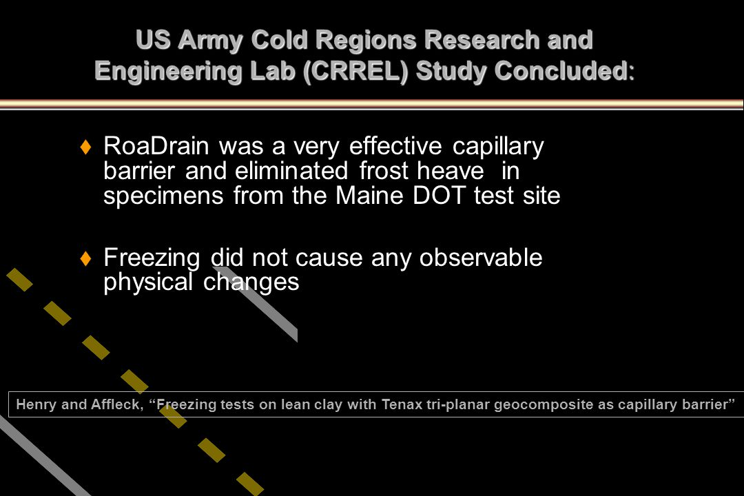 Freezing did not cause any observable physical changes