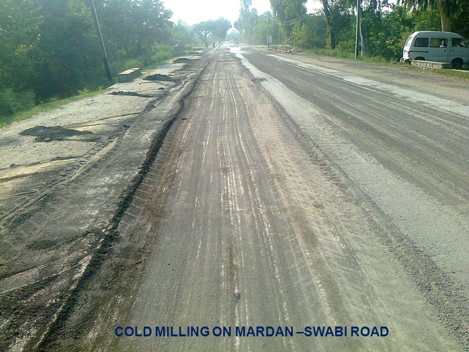 COLD MILLING ON MARDAN –SWABI ROAD