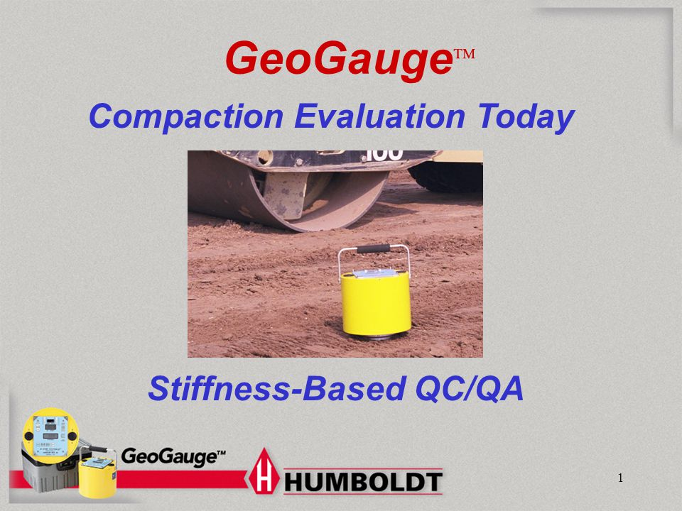 Stiffness-Based QC/QA