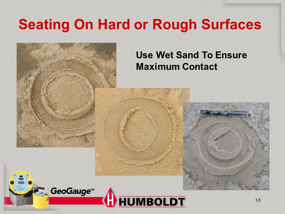 Seating On Hard or Rough Surfaces
