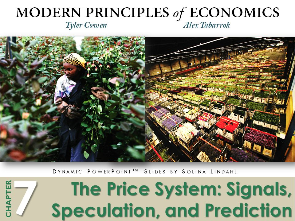 The Price System: Signals, Speculation, and Prediction