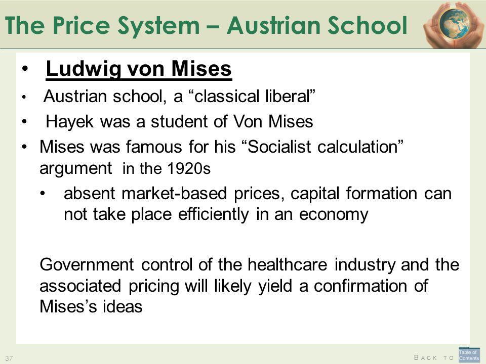 The Price System – Austrian School