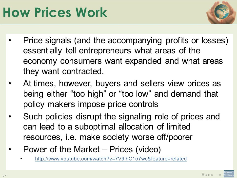 How Prices Work