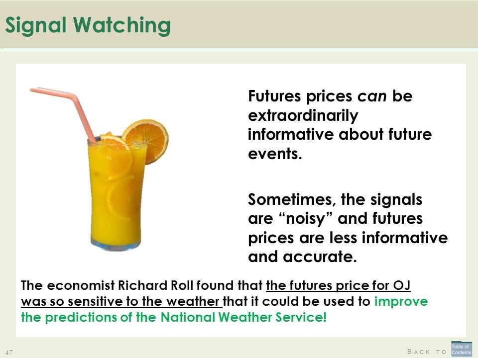 Signal Watching