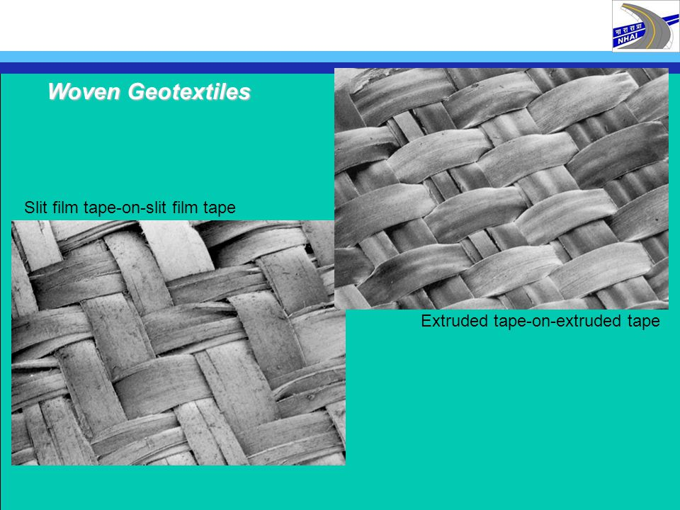 Woven Geotextiles Slit film tape-on-slit film tape
