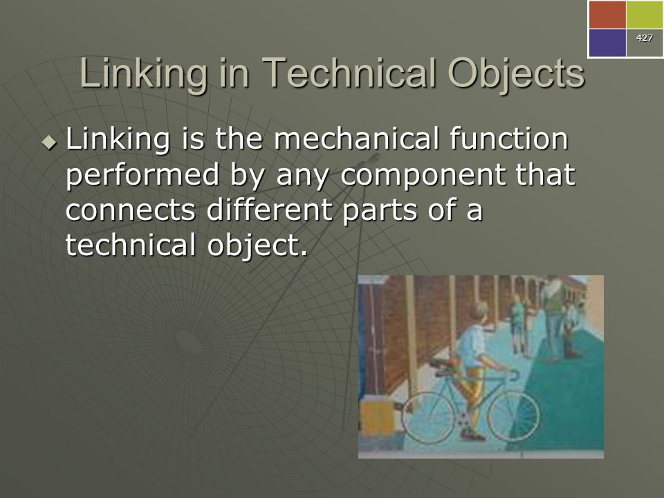 Linking in Technical Objects
