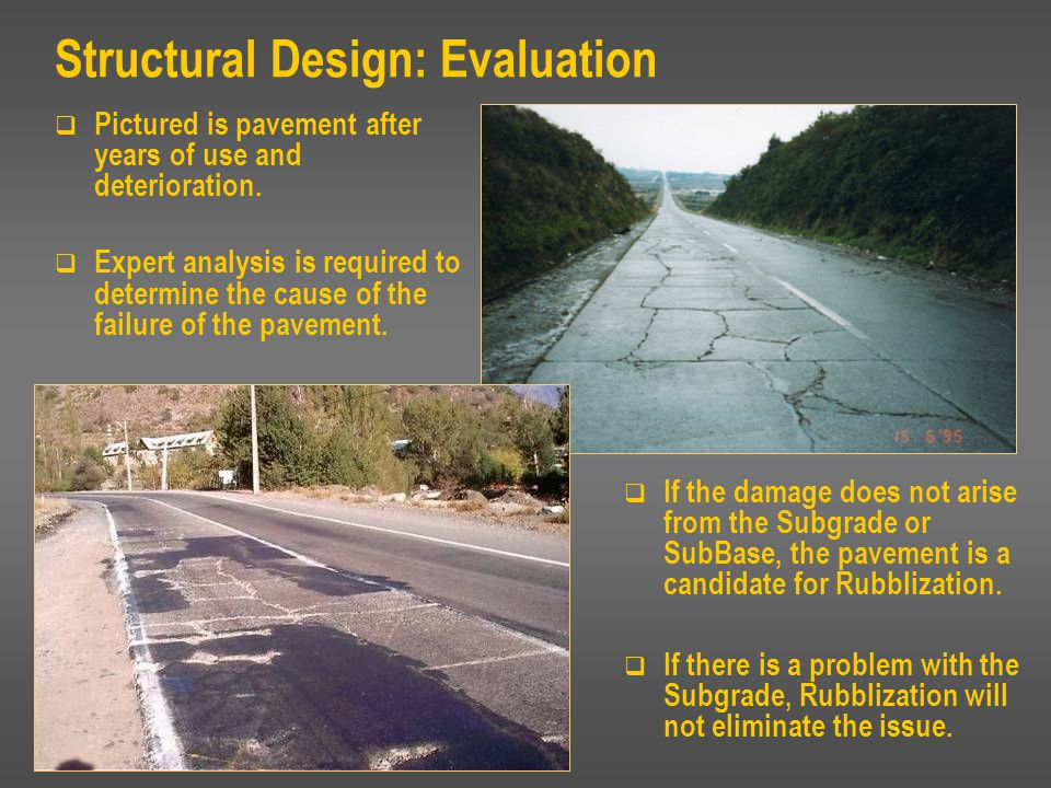 Structural Design: Evaluation