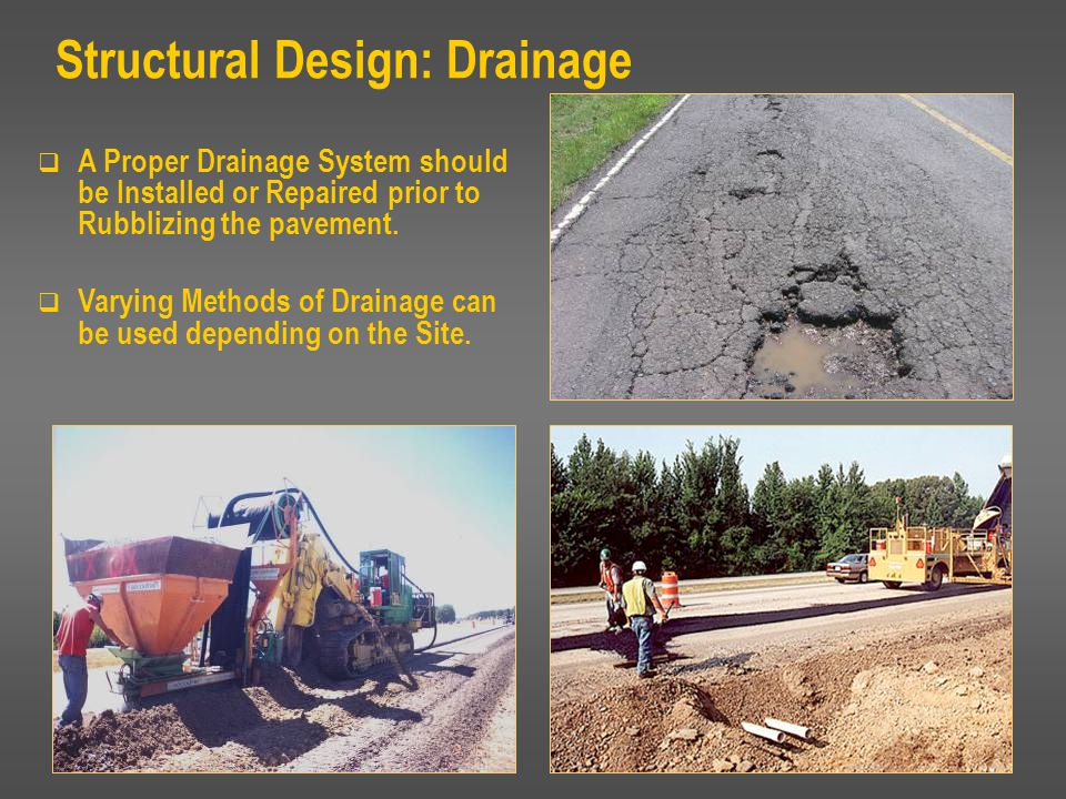 Structural Design: Drainage