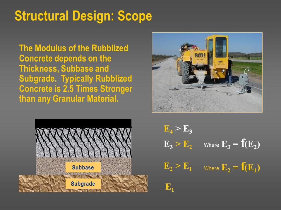Structural Design: Scope