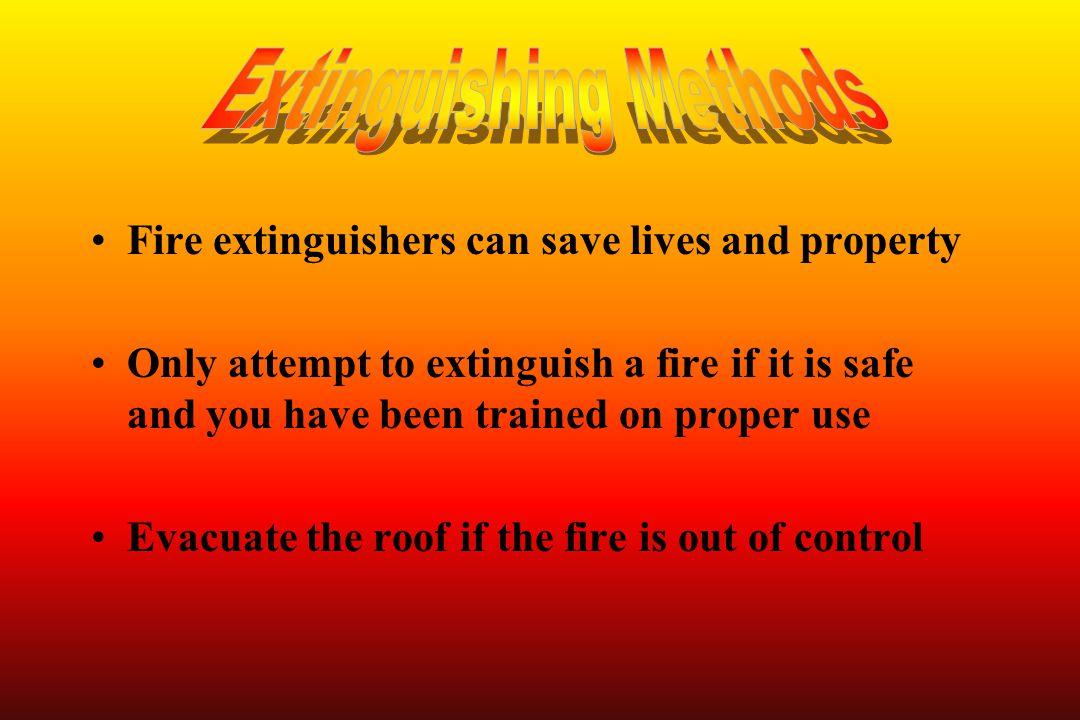 Extinguishing Methods