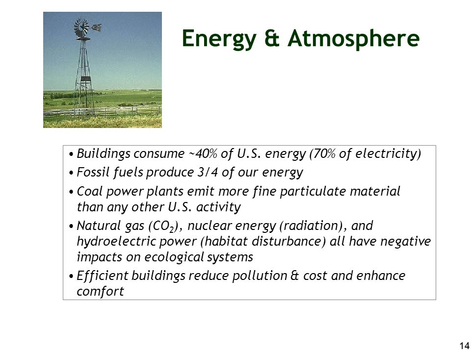 Energy & Atmosphere 17 possible points