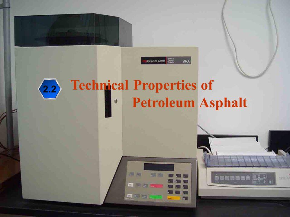 Technical Properties of Petroleum Asphalt