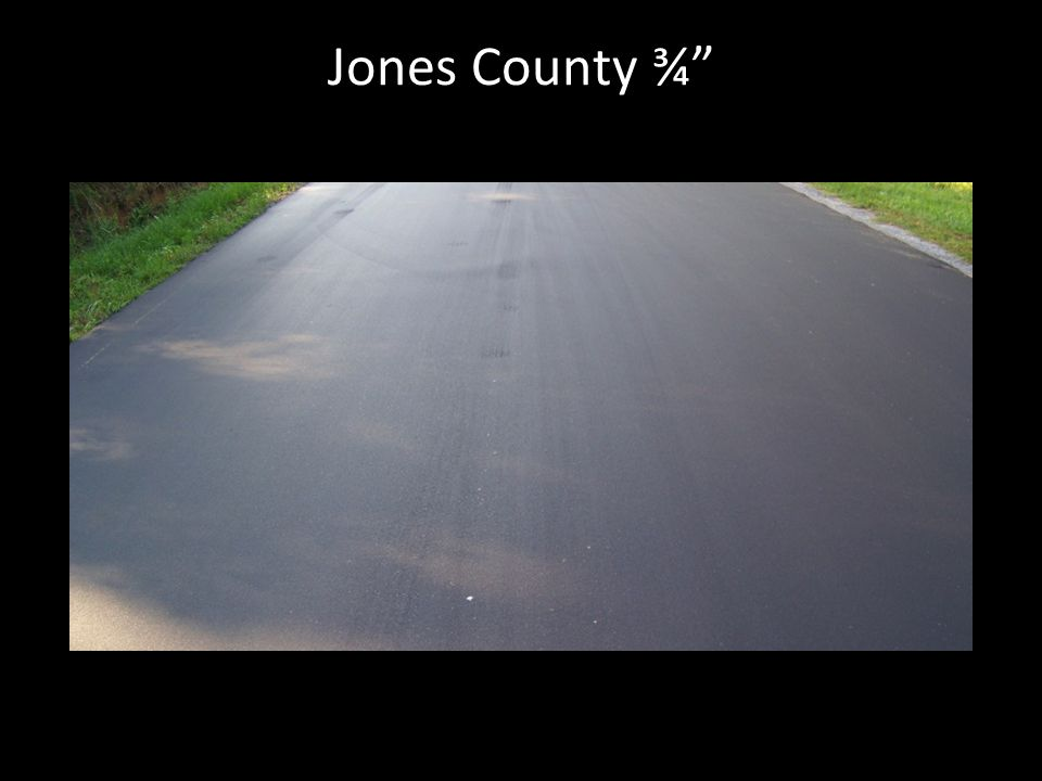 Jones County ¾