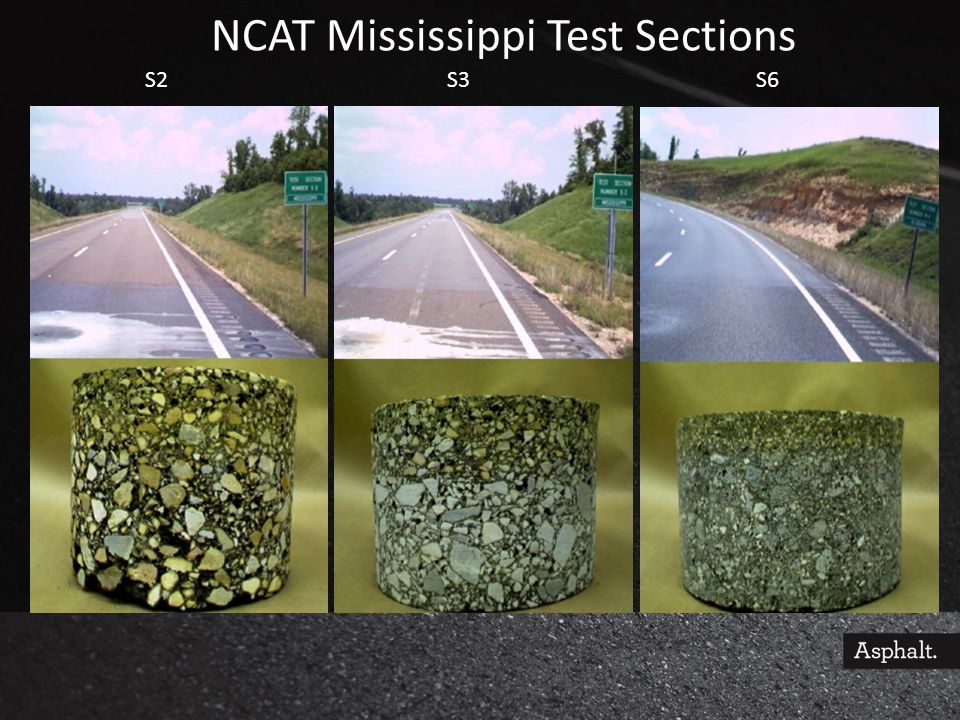 NCAT Mississippi Test Sections