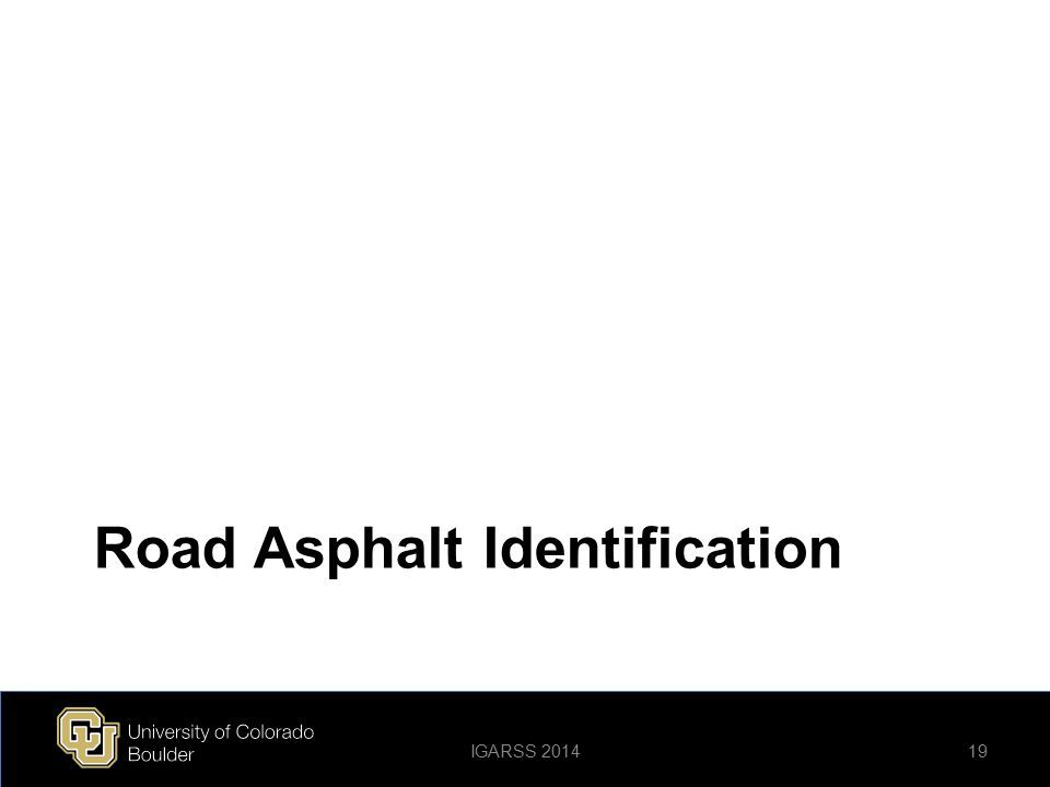 Road Asphalt Identification