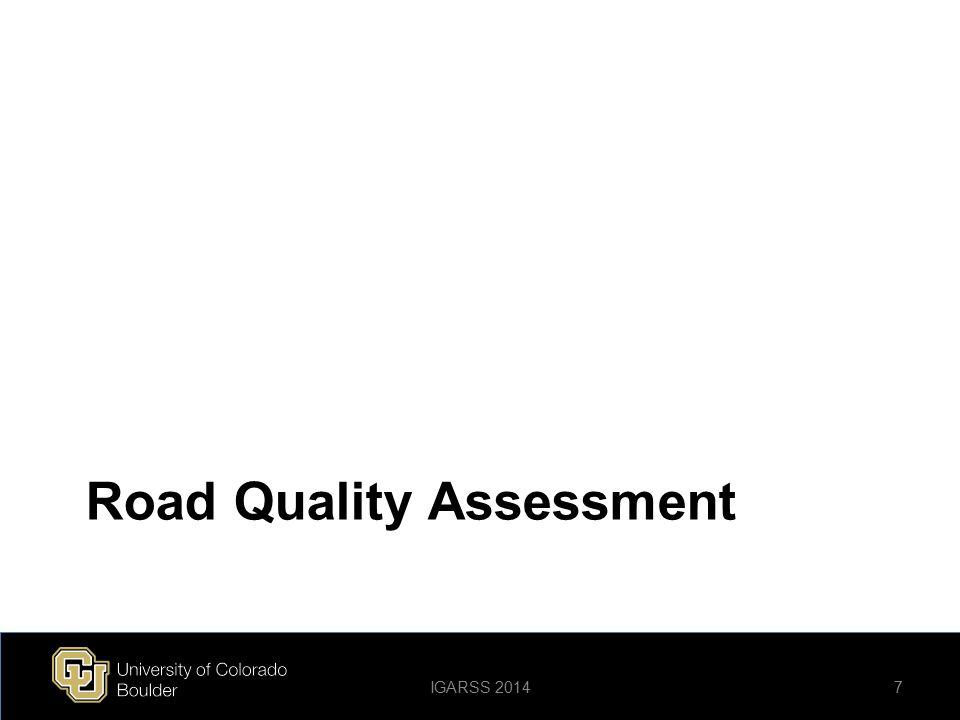 Road Quality Assessment
